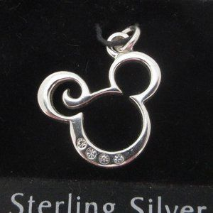 Mickey Mouse 925 sterling silver charm pendant